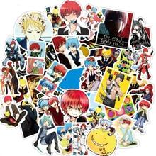 50pcs Anime Assassination Classroom Stickers Graffiti Waterproof Decals Skateboard Sticker