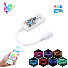 C15 Wifi LED RGB Controler DC12V MIni Wifi RGB LED Controller for RGB LED Strip wifi control led touch controller
