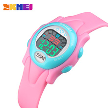 SKMEI New Waterproof Sports Children Watches Fashion Alarm Clock Boy Girl Child Backlight Luminous Digital Watch 1478 relojes