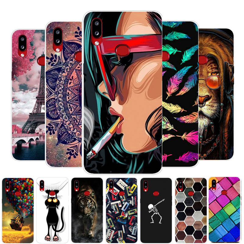 Case For Samsung Galaxy A10S Phone Case Silicone Soft TPU Back Cover For Samsung A10S A 10S <font><b>A107F</b></font> SM-<font><b>A107F</b></font> Cases Cartoon Coque image