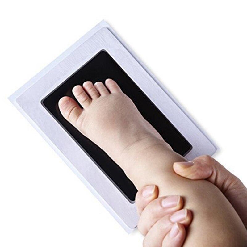 2.78US $ 20% OFF Newborn Baby Handprint Footprint Imprint Kit Baby Souvenirs Casting Newborn Footpri...