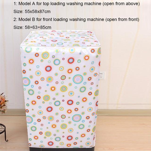 чехол для стиральной машины водонепроницаемый солнцезащитный фотография