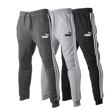 2020 New Casual Men Clothing Jogging Fitness Pants Fashion Print Cotton Gym Sports