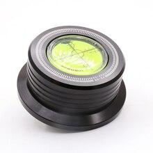 1 шт. 3 в 1 50 Гц LP-528 черный LP запись диск стабилизатор стробоскоп градиент с рычагом