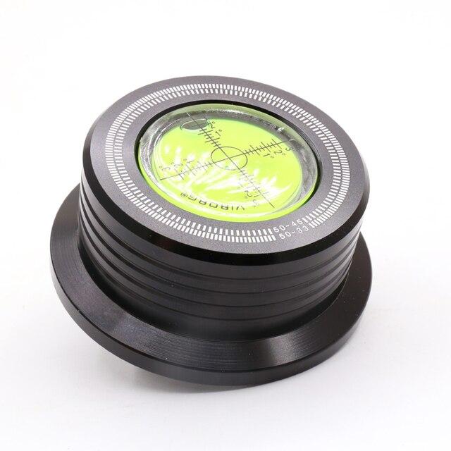 1PC 3 en 1 50HZ LP 528 60HZ noir LP disque stabilisateur Stroboscope Gradienter avec barre de levier