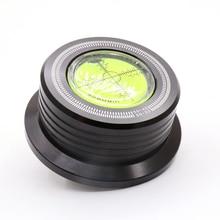 1Pc 3 In 1 50Hz Lp 528 60Hz Black Lp Disc Stabilizer Stroboscoop Gradienter Met hendel Bar
