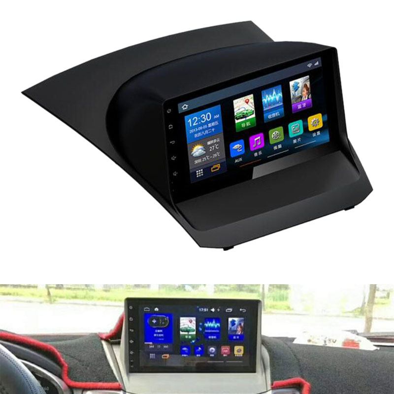9 Cal 2 + 32G Android 8.0 samochodowy odtwarzacz dvd GPS samochód z nawigacją wielofunkcyjny odtwarzacz Ford Fiesta