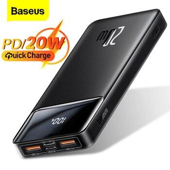Внешний аккумулятор Baseus на 20 Вт с поддержкой быстрой зарядки, 20000 мАч 1