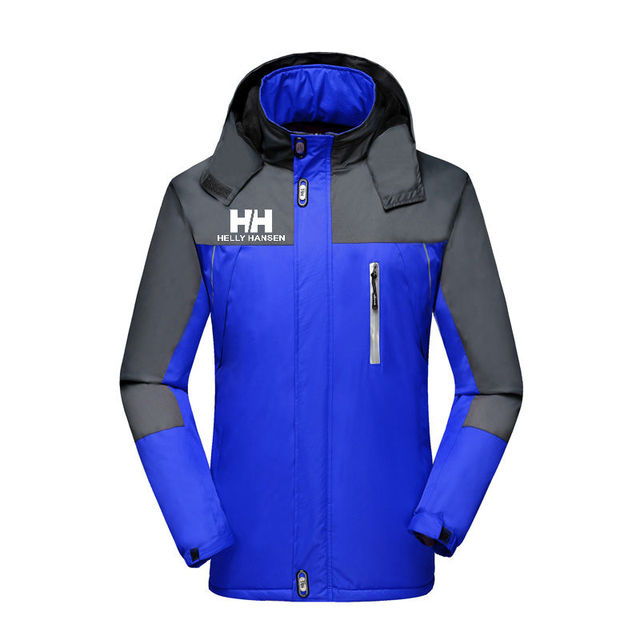 Men's Jackets Waterproof Spring Helly Hansen Printed Hooded Coats Men Women Outerwear Helly Solid Casual Brand Male Clothing 1
