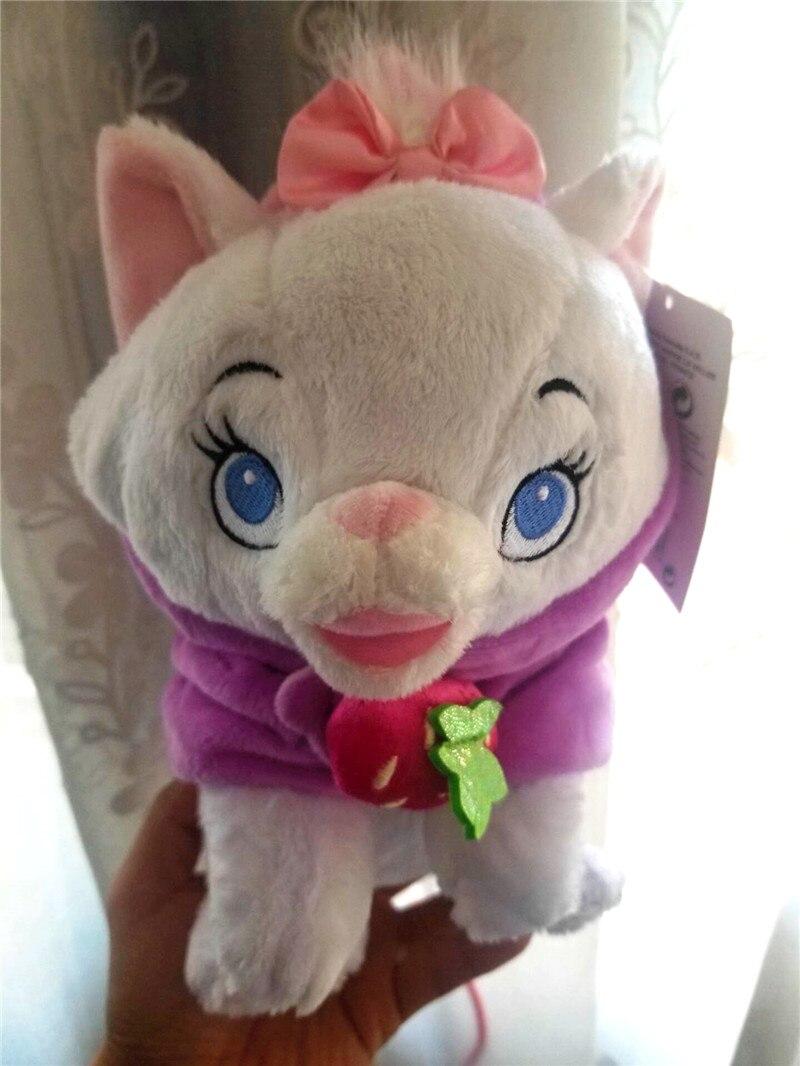 "Aristocats Marie Cat Blanket Plush Toy 10"" Duchess Kitten NWT"