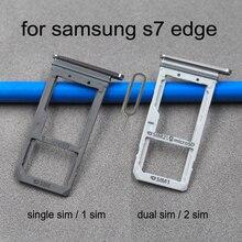 Dual SIM Card Slot For Samsung S7 Edge G