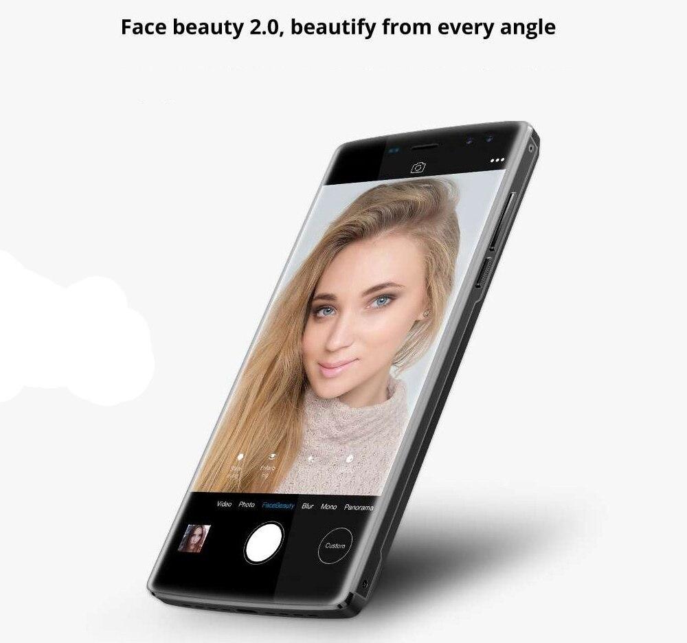 DOOGEE BL12000 Smartphone 12000mAh carga rápida 6,0 18:9 FHD pantalla MTK6750T Octa Core 4GB 32GB 16MP Cámara Android 7,1 teléfonos - 5