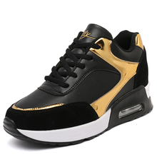 Height Increasing air 90 sneakers women leather Breathable Casual Sports shoes womens fashion Walking zapatillas deportiva