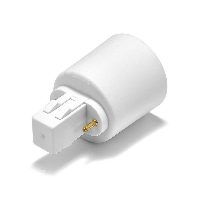GX23 To E26 E27 LED Light Bulb Extend Extension Plug Lamp Holder Power Adapter Converter Base Socket