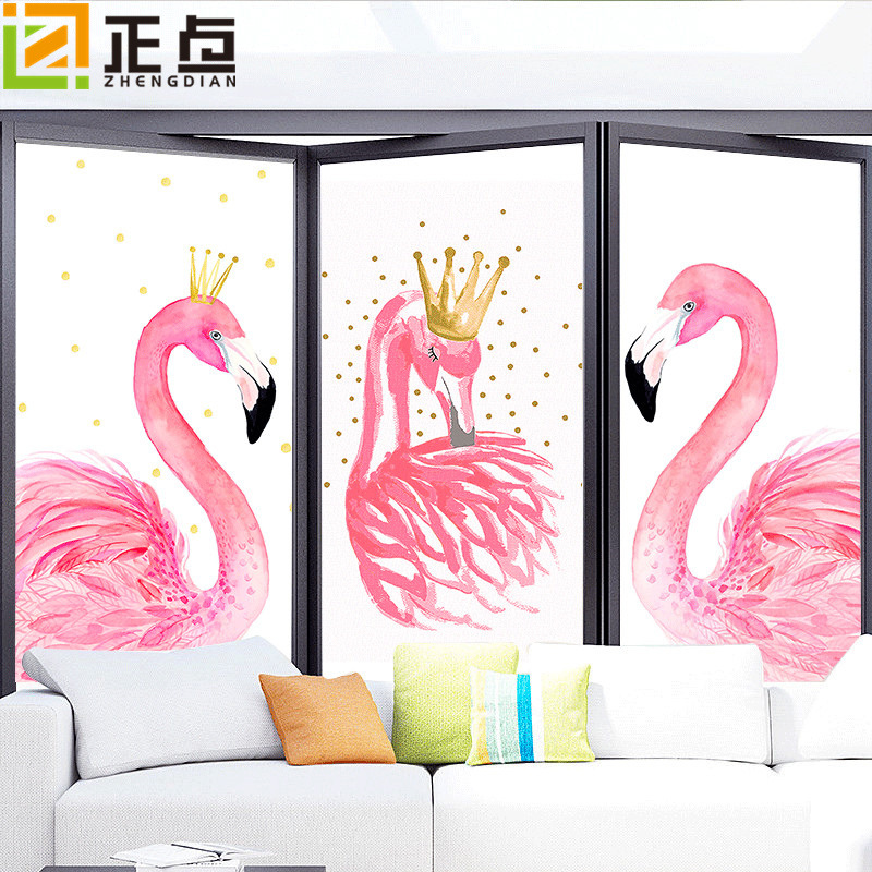 Window Film Dull Polish Adhesive Paper Toilet Translucent Non-transparent Bathroom Glass Paper Window Electrostatic Film Film