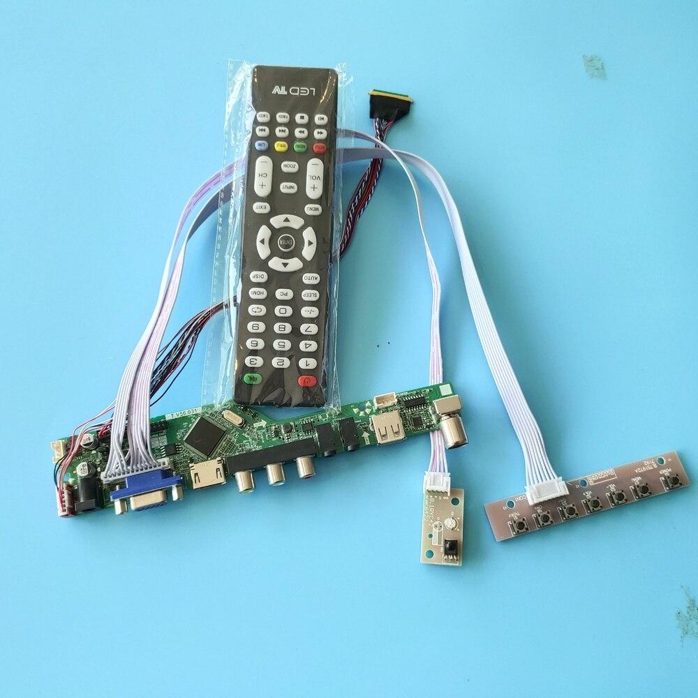 Kit para LP173WD1(TL)(A3) VGA Panel remoto pantalla USB HDMI 17,3