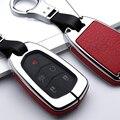 Coque de Protection pour clés de voiture | En cuir  accessoire de Protection pour Cadillac Escalade ESV XTS CTS SRX 6BT CT6 XT5 BLS