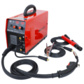 MIG155Di Igbt Mma/Mig/Flux Draad/Effen Draad Lassen Machine Dual Voltage 110 V/220 V mig Lassen Draagbare Mig Mma Lasser