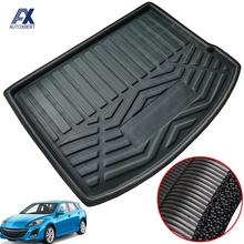 Per Mazda 3 Mazda3 Hatchback Hatchback BL 2009   2013 tappetino bagagliaio posteriore Cargo Tray Boot Liner tappeto Protector tappetino 2010 2011 2012