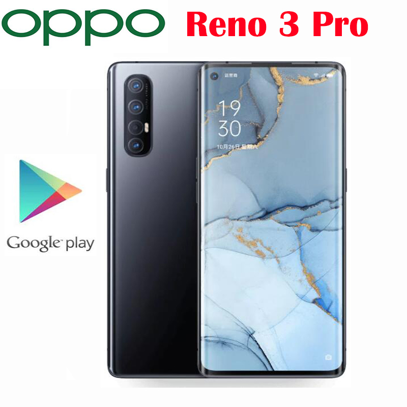 Original Official New Oppo Reno 3 Pro 5G Cell phone Snapdragon 765G Octa Core 6.5inch 48MP+13MP+8MP+2MP Real Cameras NFC 4025mAh|Cellphones| - AliExpress