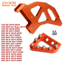 2020 Rear Disc Rotor Brake Guard Cover Protector Pedal For KTM SX XC XCW SXF SX F EXC EXC F XCF W 125 150 250 300 350 450
