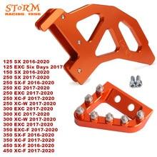 2020 hinten Disc Rotor Bremse Wache Cover Schutz Pedal Für KTM SX XC XCW SXF SX F EXC EXC F XCF W 125 150 250 300 350 450