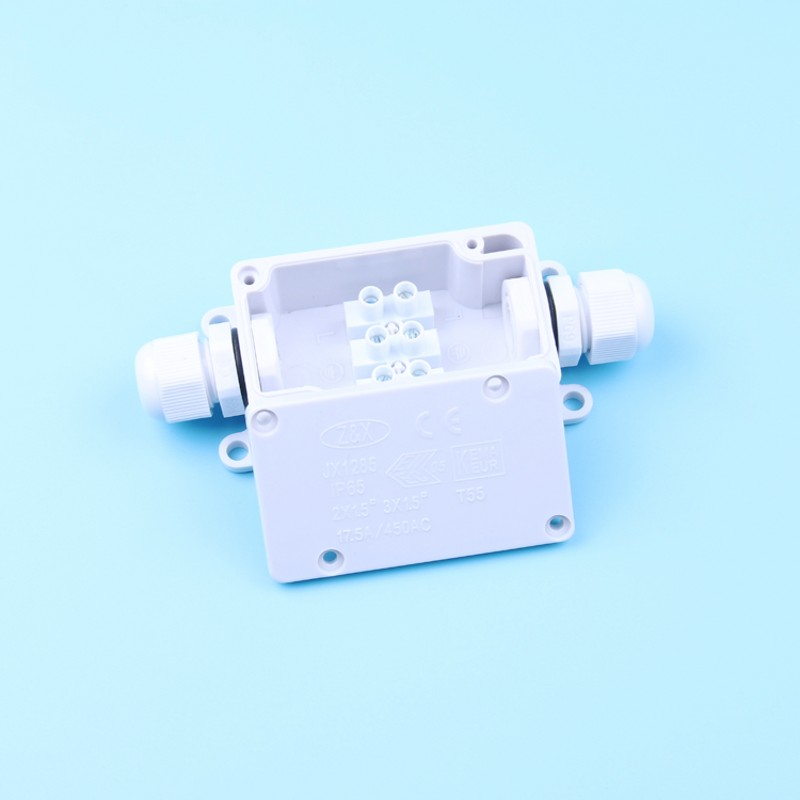 IP65 Waterproof Junction Box White Outdoor Light Supporting Junction Box