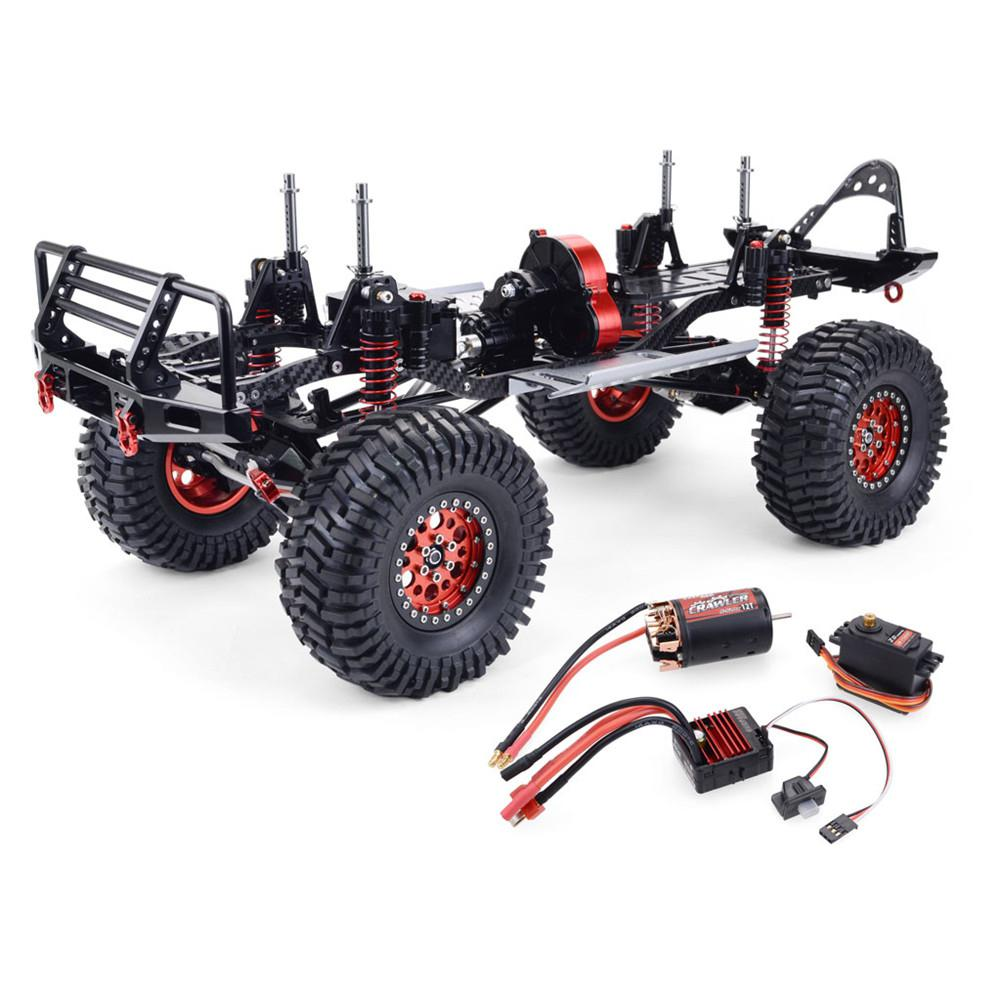 Front Rear Portal Axle CNC Aluminum Metal ForRC Car 1/10 AXIAL SCX10 Wrangler Chassis Wheelbase Vehicle Crawler Cars Parts