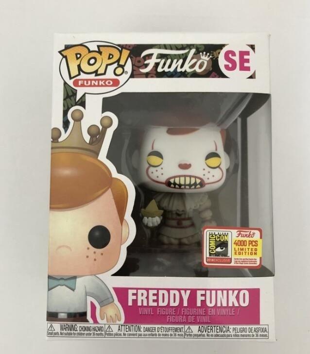 Funko POP Movie Stephen King's Joker Clown FREDDY Limited Vinyl Action Figure Collectible Model Toys For Chlidren Gift