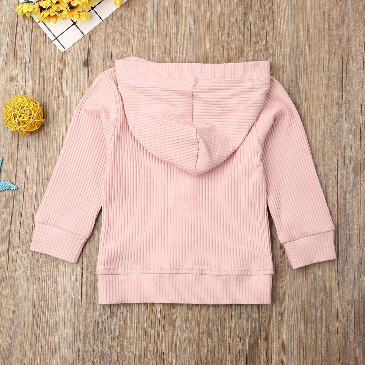 아기 소년 뜨개질 카디건 2020 가을 따뜻한 신생아 유아 스웨터 패션 긴 소매 후드 코트 자켓 아동 의류 복장