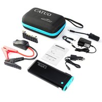 CATUO 20000mAh Portable Auto Car Jump Starter Battery Booster with USB Power Bank LED Flashlight for Truck Motor Boat