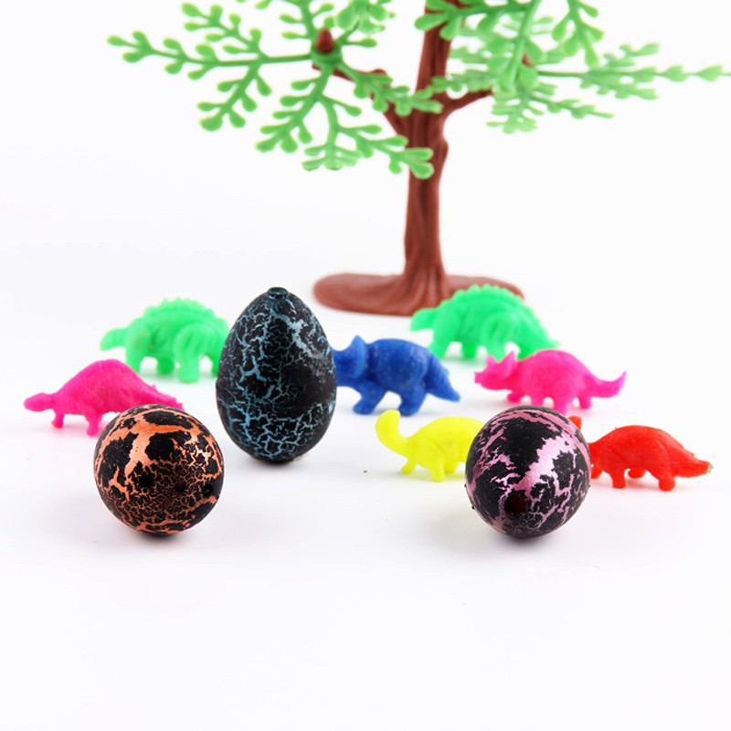 5 Pcs/Set Magic Hatched Growing Dinosaur Eggs 2 X 3 Cm Cute Funny High Quality Random Colors Water Grow For Children Toys Gift