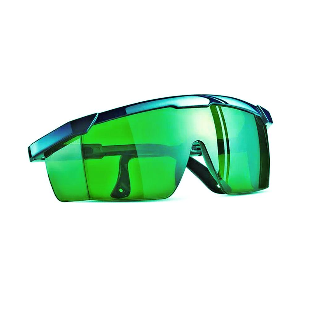Indoor Hydroponics LED Grow Room Glasses Safety Goggles With Case Blocks UVA& UVB& IR Rays Anti-red/ Blue Alleviates Glare