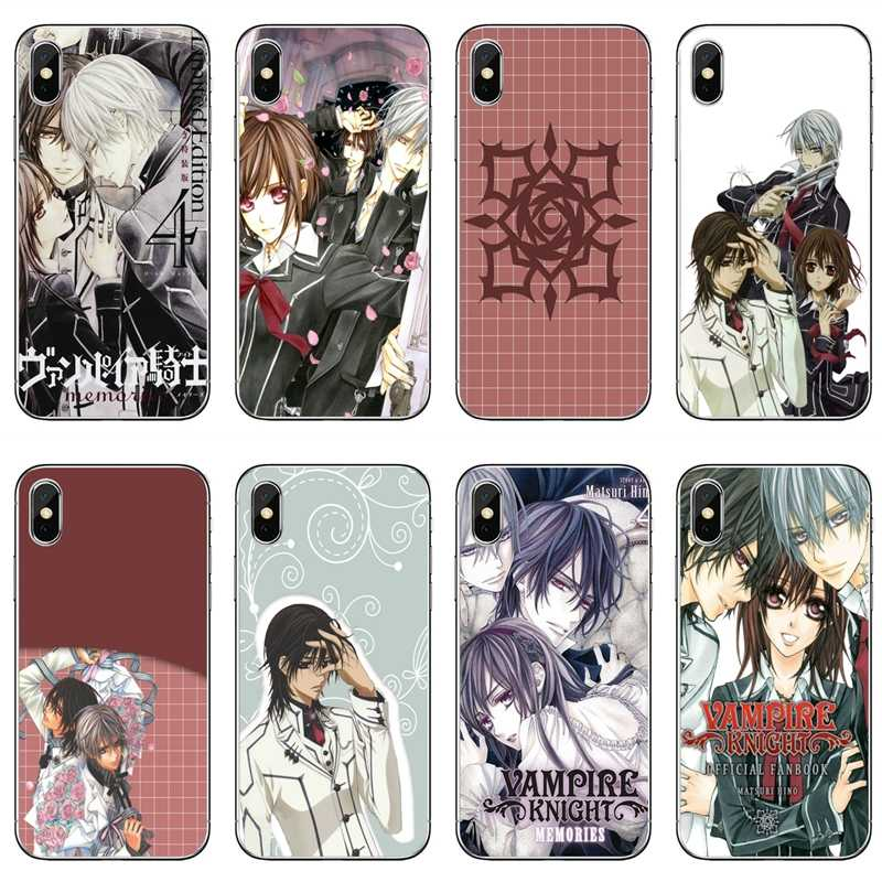 Comic Vampire Knight Accessori della Cassa Del Telefono Per il iPhone 11 Pro XS Max XR X 8 7 6 6S Plus 5 5S SE 4 4S 4 iPod Touch 5 6