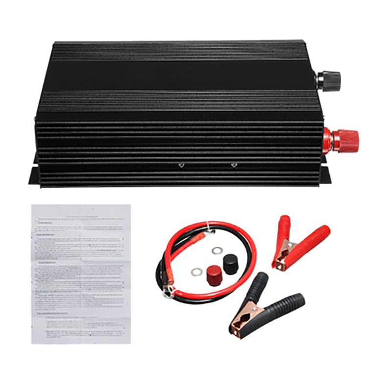 Car Pure Sine Wave Power <font><b>Inverter</b></font> Converter <font><b>3000W</b></font>(Peak6000W) DC <font><b>12V</b></font> to AC 220V image