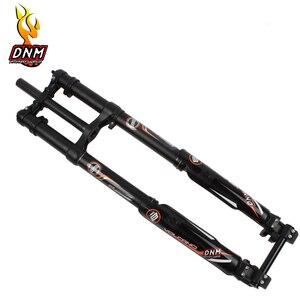 MTB DNM USD-8 FR наплечное давление обратный DH Djustment горный велосипед амортизатор пневматическая подвеска Велосипедная вилка 26 27,5