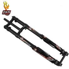 MTB DNM USD-8 FR shoulder pressure reverse DH djustment mountain bike shock absorber air suspension bicycle fork 26 27.5