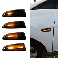 цена на LED Dynamic Side Marker Light Flowing Turn Signal Blinker  For Opel Astra J 2009-2015 Astra K 2015-2019 Zafira C 2011-2019
