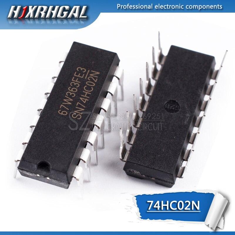 1PCS 74HC02N DIP14 74HC02 DIP SN74HC02N 7402