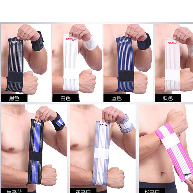 Men Fitness Wrist Sprained Power Belt Sports Men Pressure Bandage Strength Training Weightlifting Bracers Protective Gear