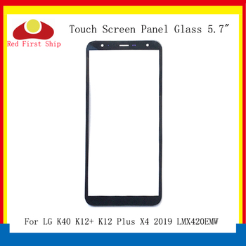 цена на 10Pcs/lot Touch Screen For LG K40 K12+ K12 Plus X4 2019 LMX420EMW Touch Panel Front Outer K12 Plus LCD Glass Touchscreen X420EM