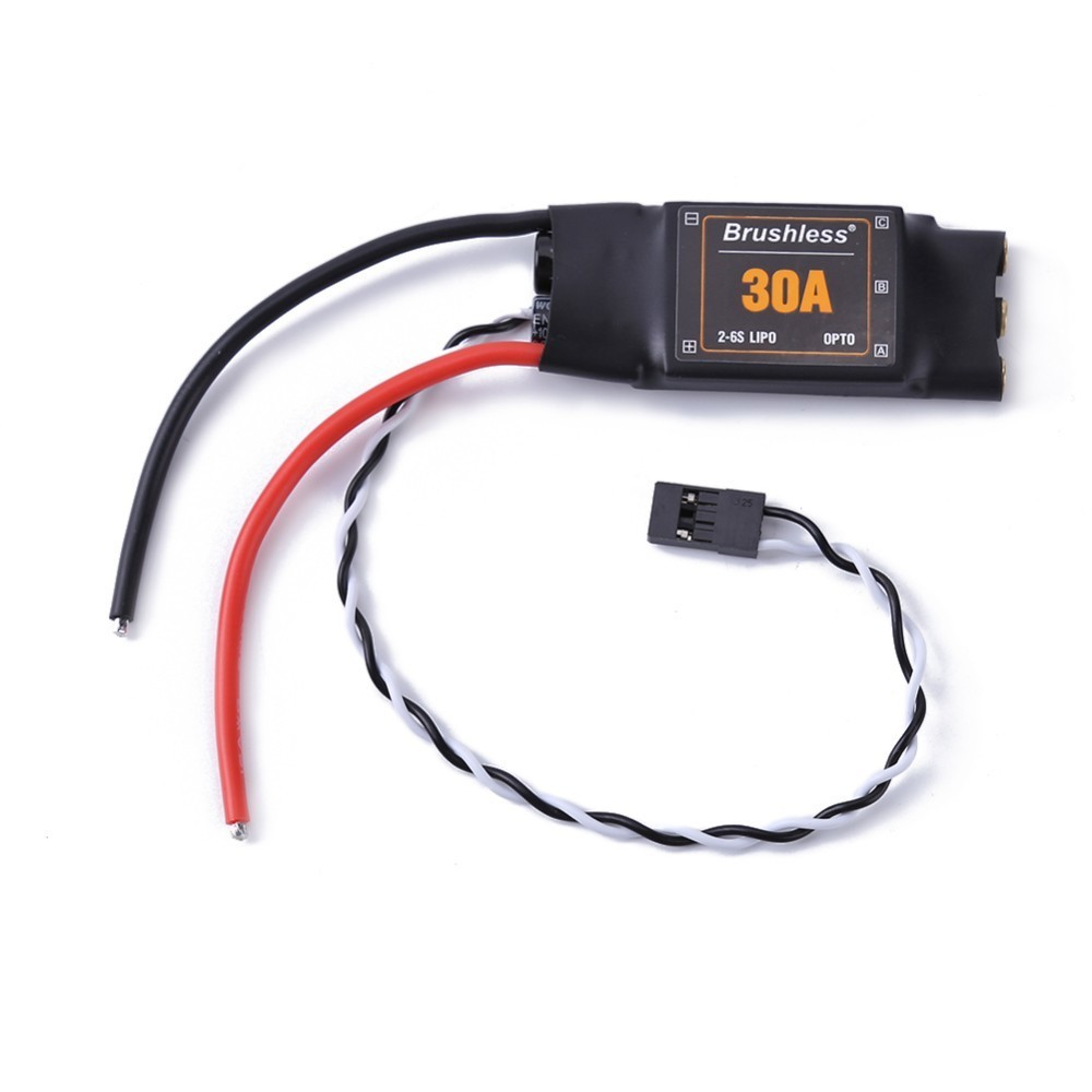 New XXD 30A 2-<font><b>6S</b></font> Brushless Speed Controller ESC for fpv racing 450 Helicopter Multicopter <font><b>Motor</b></font> Speed Controller RC ESC image