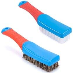 Szczotka do czyszczenia  szczotka do płytek szczotki z włosia czyszczenie dywanów szczotka do szorowania wygodny uchwyt i elastyczne sztywne włosie Heavy Duty f w Szczotki do czyszczenia od Dom i ogród na