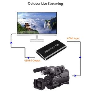 Image 3 - صندوق التقاط الفيديو ، HDMI ، Full HD ، USB3.0 ، 1080P ، لنظام التشغيل Windows/Linux/Mac ، HDMI