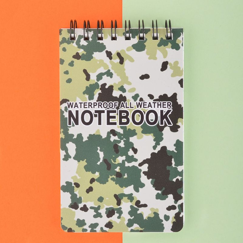 Waterproof Notepad Language Learning Coil Book Vocabulary Diary Notebook Travel