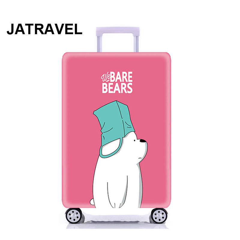 Bear Thicken Trolley Luggage Protective Cover Animal Pattern 18-32inch Travel Baggage Elastic Suitcase Case Covers