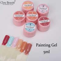 Clou Beaute Polonês Gel UV Verniz para As Unhas esmaltes permanentes de uv y levou Verniz Gel Unha Polonês Manicure Prego Tinta Gel Híbrido