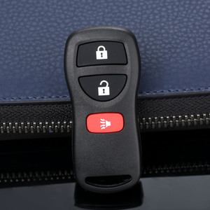 Image 1 - 3 Buttons  28268 5W501 Replacement  Keyless Entry Car Remote Key Fob Control Case Shell For Nissan KBRASTU15 315Mhz Car Covers