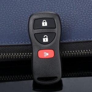 Image 1 - Carcasa de Control remoto de coche de 3 botones 28268 5W501 de repuesto sin llave para Nissan kbrestu15 315Mhz
