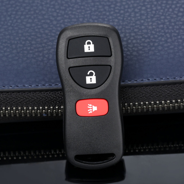Carcasa de Control remoto de coche de 3 botones 28268 5W501 de repuesto sin llave para Nissan kbrestu15 315Mhz